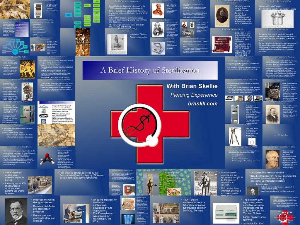 a brief history of sterilization