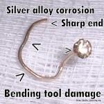 Tool damage nostril screw