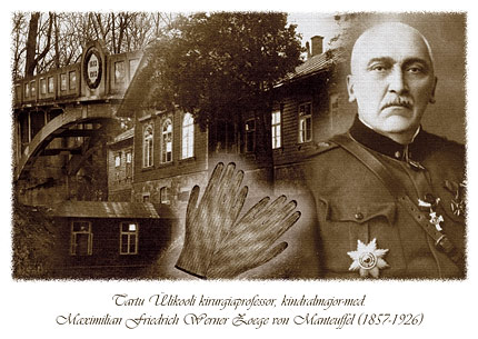 Sterile Gloves first in 1897 by W Z Manteuffel