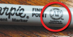Sharpies for labeling