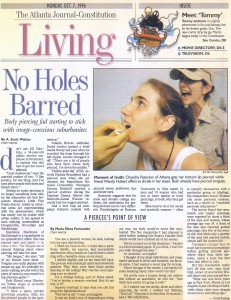No Holes Barred: A Piercee's Point of View