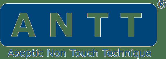 logotipo técnica asséptica No Touch .... utilizado internacionalmente para proteger as pessoas contra a infecção de saúde associados