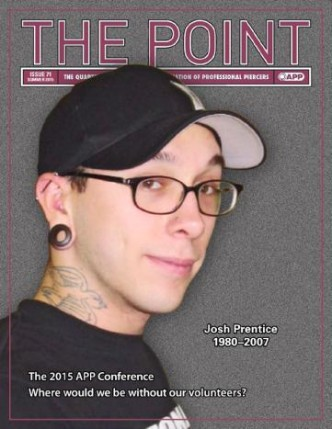 The Point Issue 71 Sammenslutning af professionelle Piercers