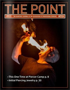The point # 73 tampa - Rob Hill eats fire while at camp APP
