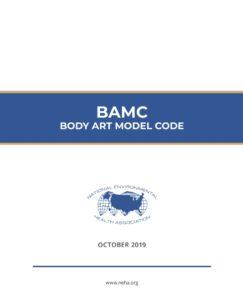 NEHA BAMC Body Art Model Code cover image