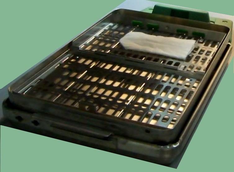 VOR ORT 2000 Kassettenfach im Deckel verschachtelt, mit einem SysTM 3 Kassettenorganisator innen