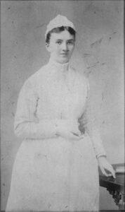Caroline Hampton in 1889